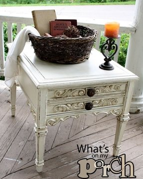 French country end tables 8