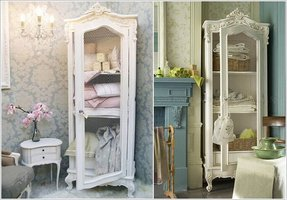 French curio cabinets