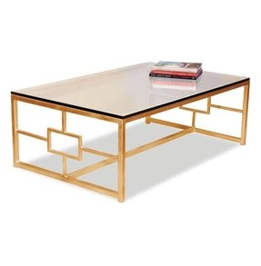 Gold coffee tables 1