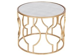 Gold nesting tables 1