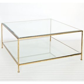 Gold nesting tables 3