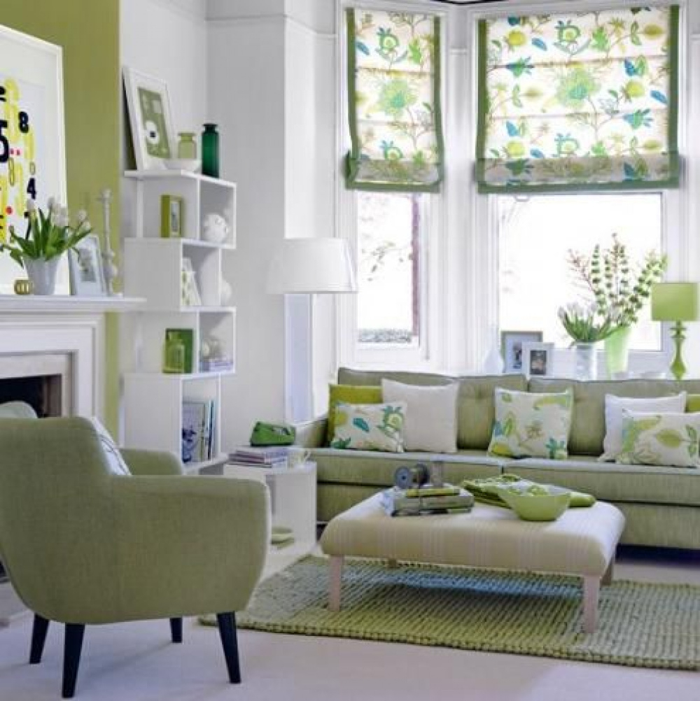 Delicieux Green Living Room Furniture 1