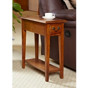 Hardwood end tables