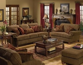 Jackson furniture belmont chenille sofa 1