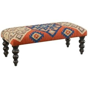 Kilim benches and ottomans