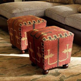 Remarkable Kilim Ottomans Ideas On Foter Andrewgaddart Wooden Chair Designs For Living Room Andrewgaddartcom