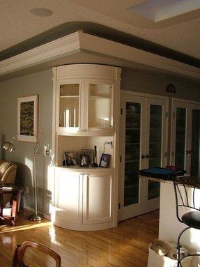 Corner Wall Curio Cabinet Foter