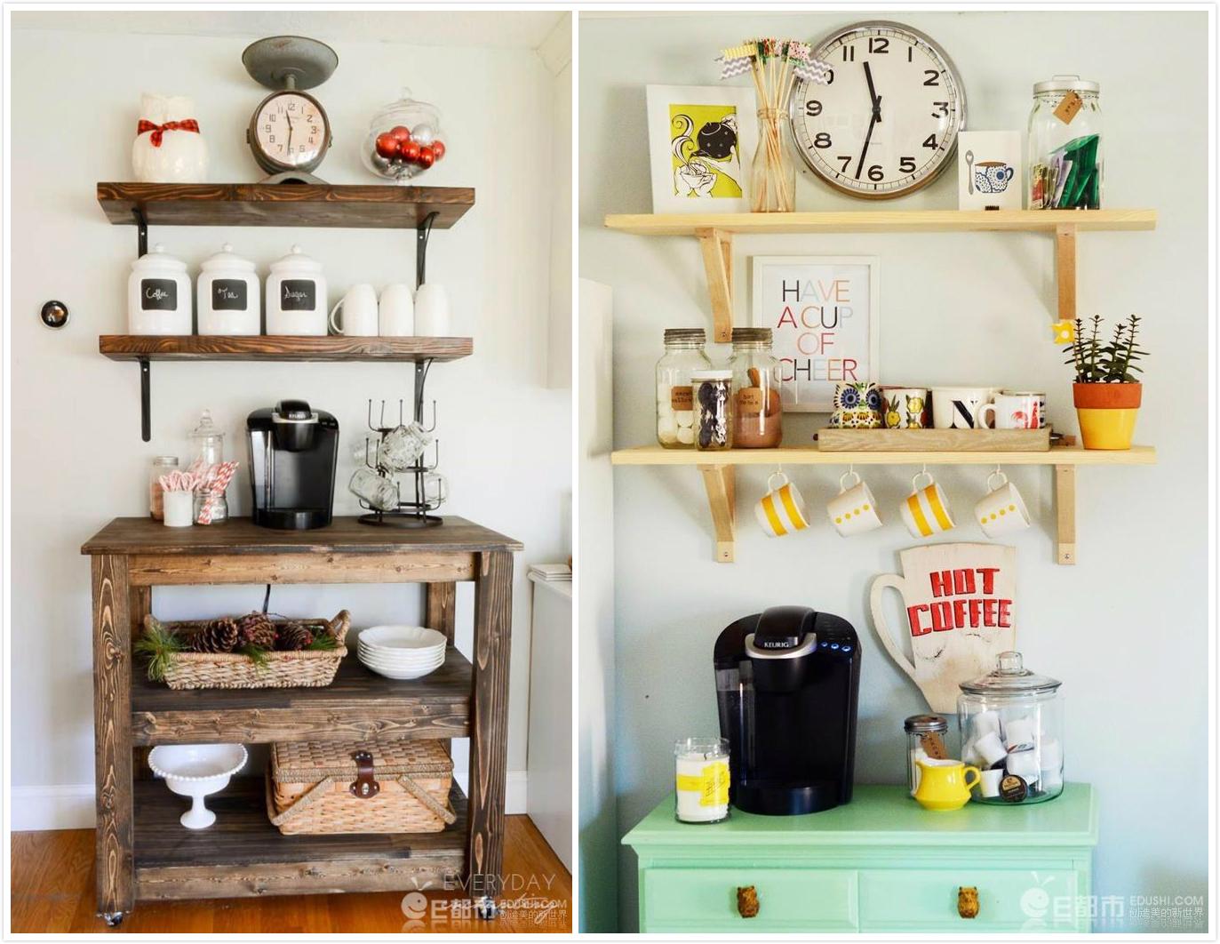 Kitchen With Mini Bar Design