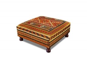 Large cocktail ottoman