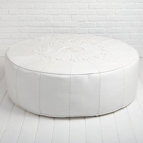 Incredible Large Pouf Ottoman Ideas On Foter Customarchery Wood Chair Design Ideas Customarcherynet