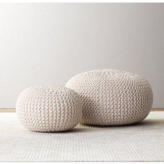 Brilliant Large Pouf Ottoman Ideas On Foter Customarchery Wood Chair Design Ideas Customarcherynet