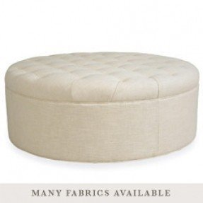 Stupendous Large Round Ottomans Ideas On Foter Machost Co Dining Chair Design Ideas Machostcouk