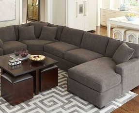 Fine Leather And Fabric Sectional Sofas Ideas On Foter Beutiful Home Inspiration Xortanetmahrainfo