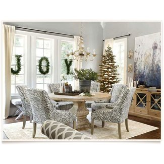 Animal Print Dining Room Chairs Ideas On Foter
