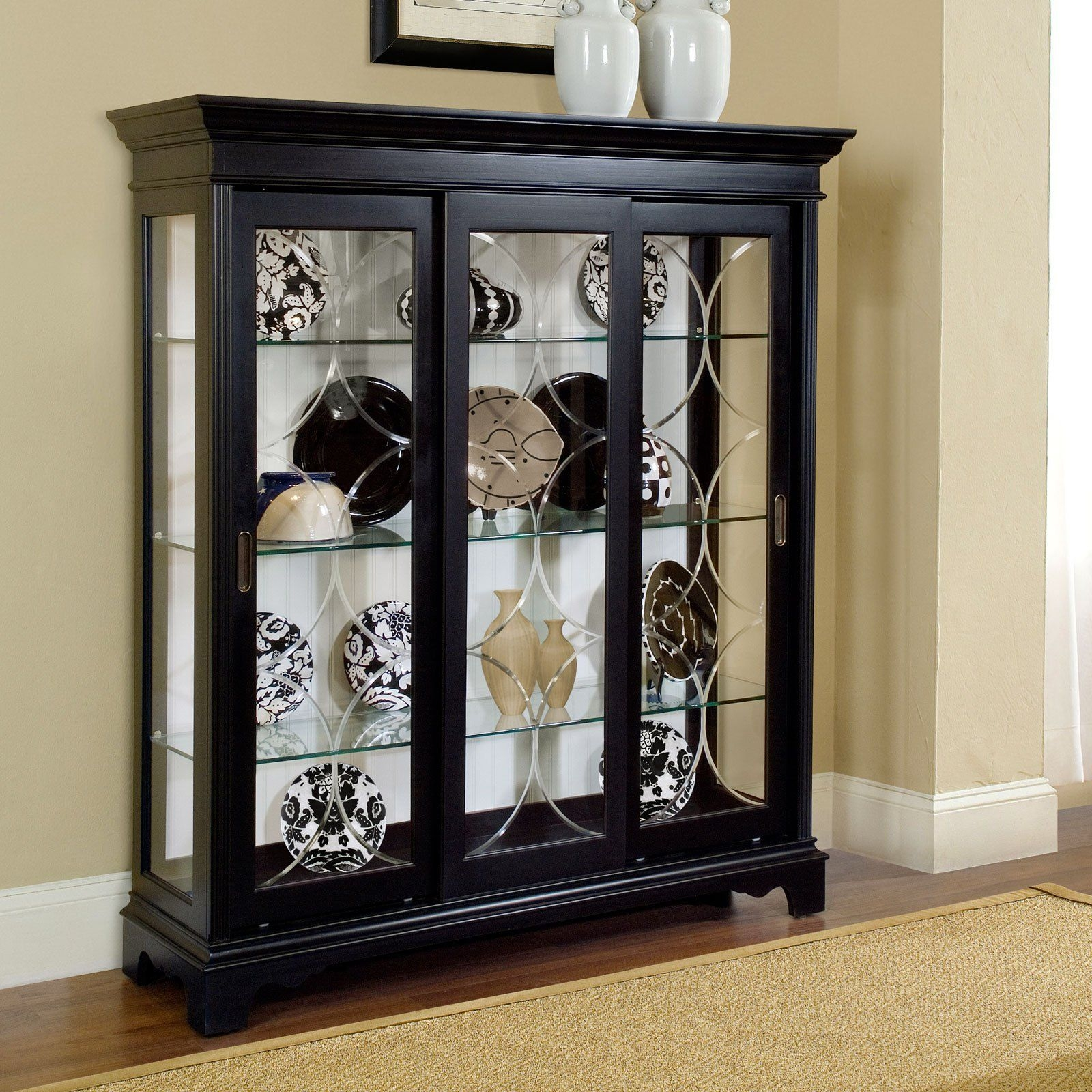 Mantel Curio Cabinets
