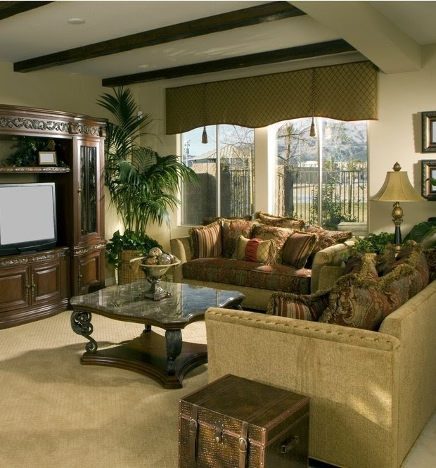 Mediterranean Living Room Furniture 7