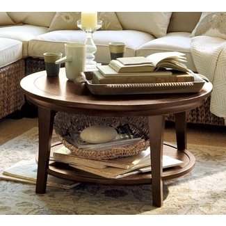 Metropolitan round coffee table 2