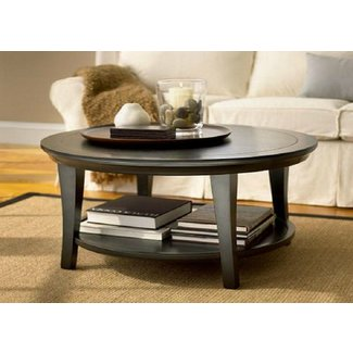 Metropolitan round coffee table 6