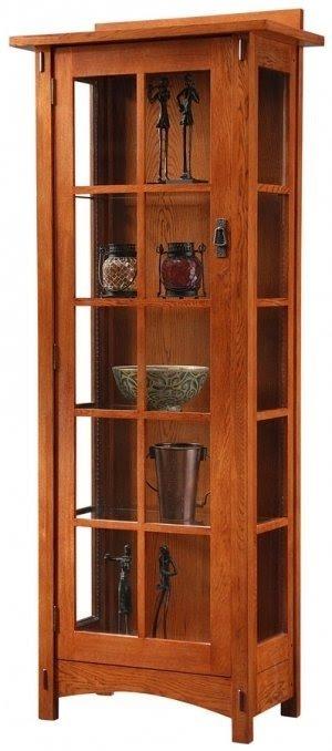 Mission Curio Cabinets 1