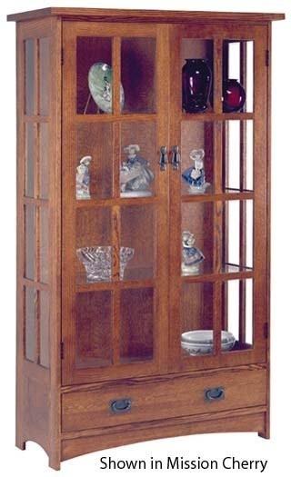 Mission Curio Cabinets 7