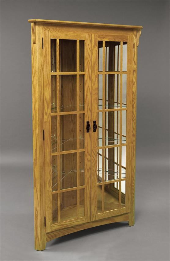 Exceptionnel Mission Style Curio Cabinets