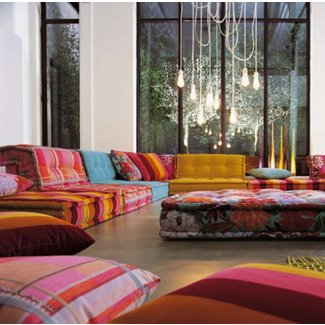 Moroccan Living Room Furniture Ideas