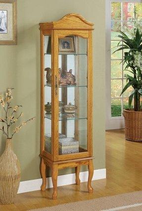 Oak Curio Cabinets Foter