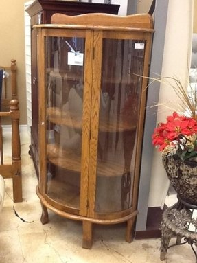 All Glass Curio Cabinet