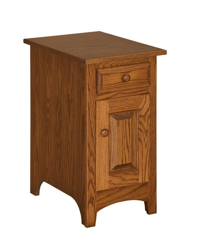 Oak End Tables With Drawers