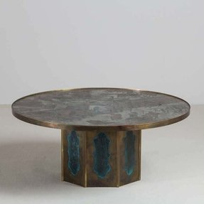 Pewter coffee tables 36