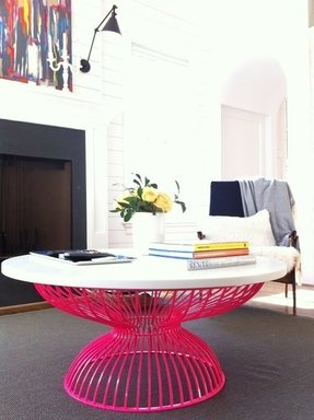 Pink coffee tables
