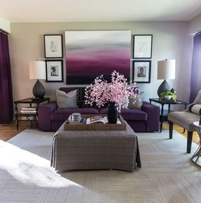 Purple Wall Art Ideas On Foter