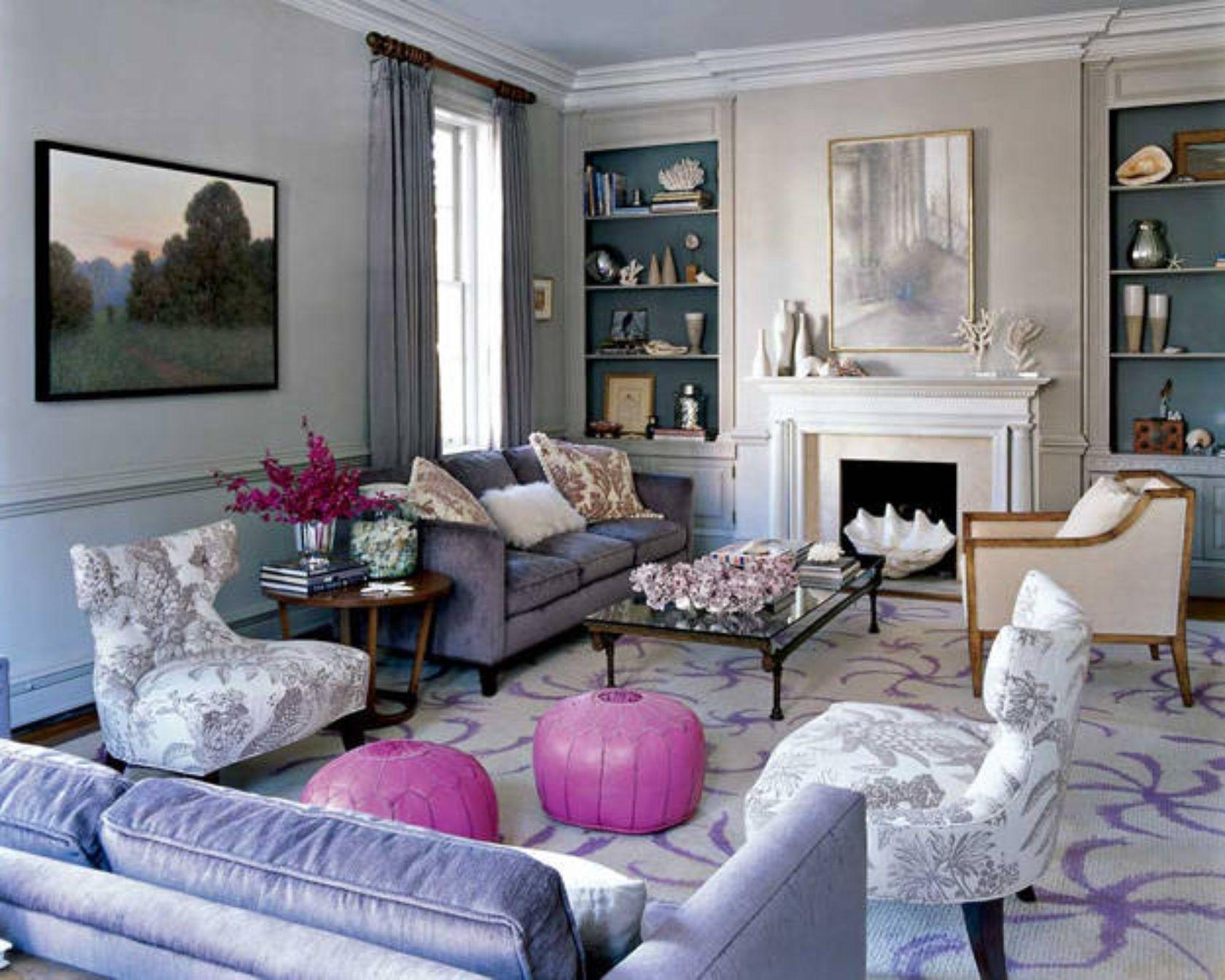 Purple Living Room Furniture   Ideas On Foter