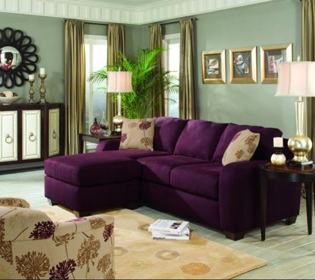 Awesome Purple Living Room Furniture Photo Gallery