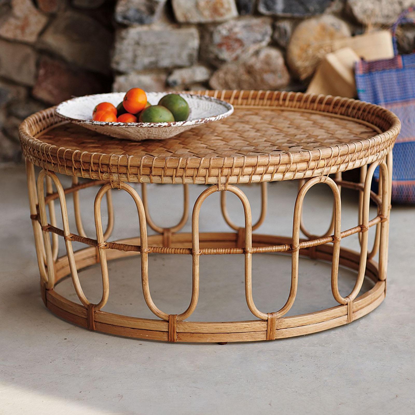 Genial Rattan Coffee Tables 1