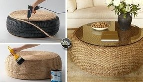 Rattan coffee tables