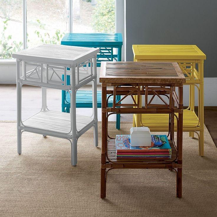 Rattan Side Tables Living Room