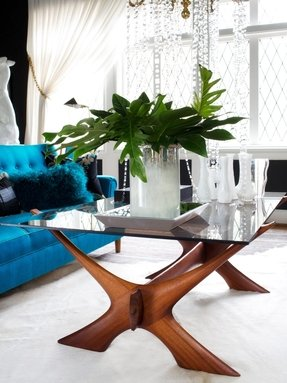 Rosewood coffee tables