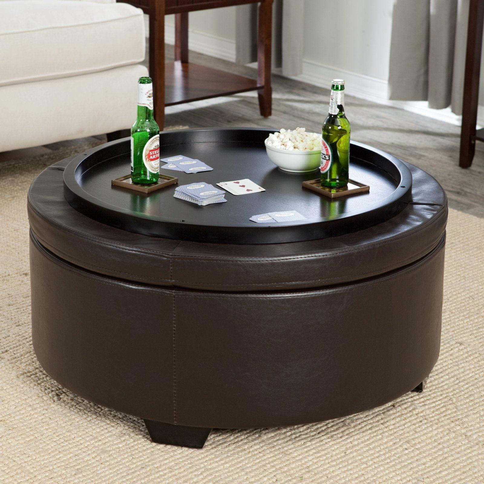 Round Storage Table