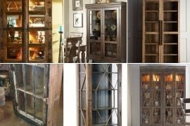 Marvelous Rustic Curio Cabinets