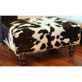 Cowhide Ottomans Ideas On Foter