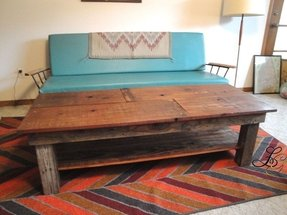 Sawtooth custom handmade reclaimed wood