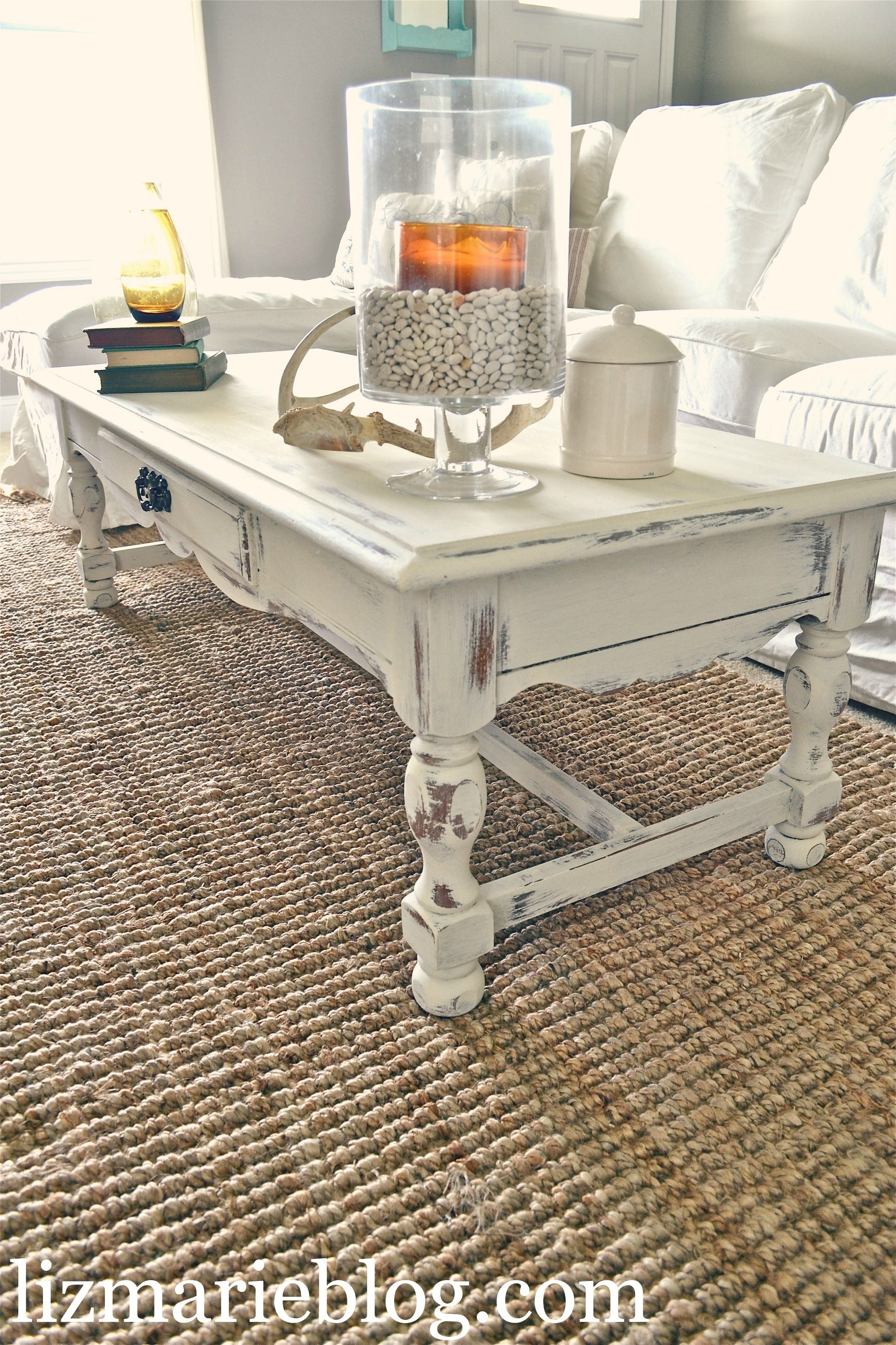 Beau Shabby Chic Coffee Table