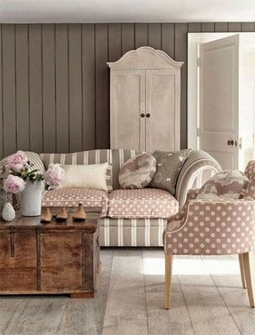 Shabby Chic Green Furniture Living Room