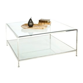 Modern square coffee tables foter silver coffee tables 16 watchthetrailerfo
