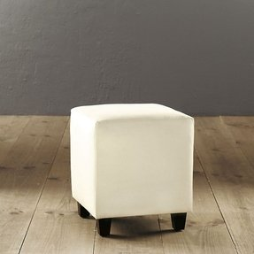 Square upholstered ottoman 4
