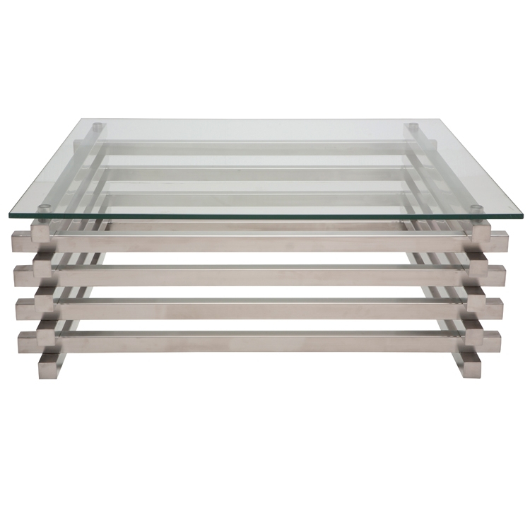 Charmant Stainless Steel Side Table