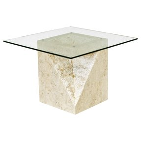 Stone side tables
