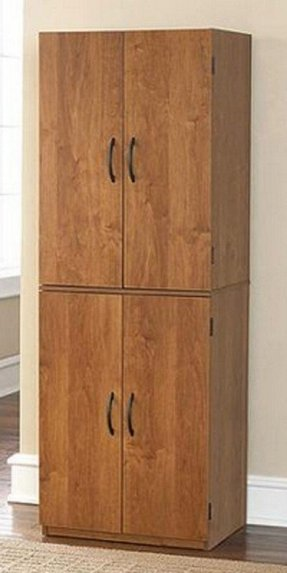 tall wood storage cabinets with doors and shelves kitchen pantry storage cabinets foter 27084
