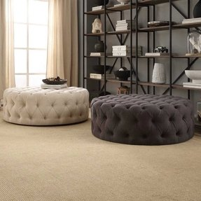 Tremendous Ottomans With Wheels Ideas On Foter Squirreltailoven Fun Painted Chair Ideas Images Squirreltailovenorg